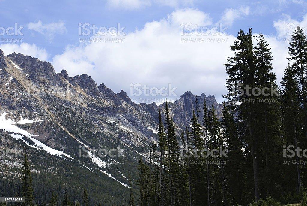 Cascades Spring royalty-free stock photo