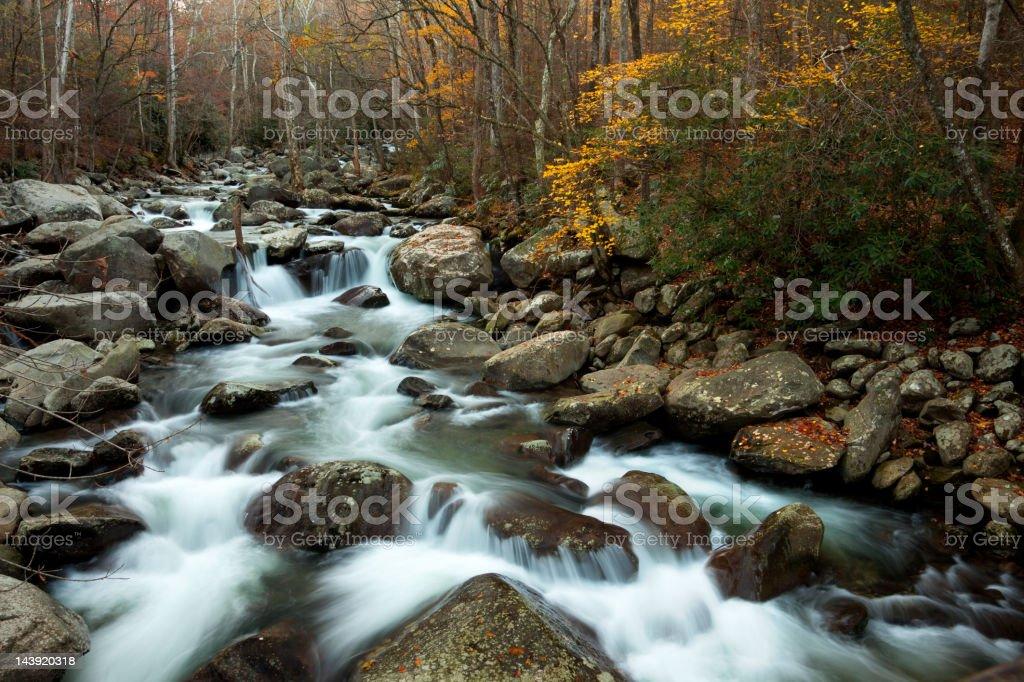 Cascading Stream stock photo