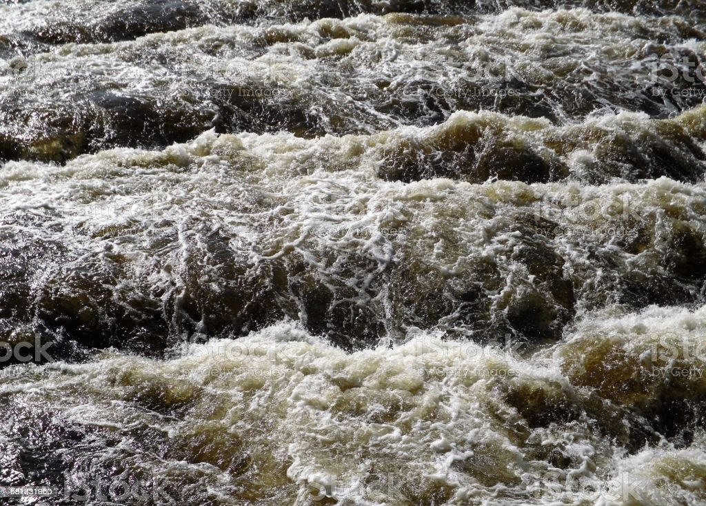Cascading  Water 3 royalty-free stock photo