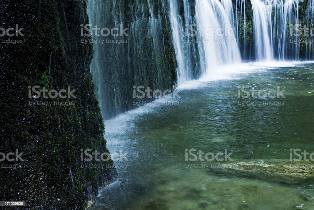 Cascading Water royalty-free stock photo