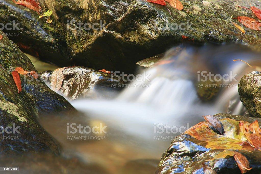 Cascada de agua foto de stock libre de derechos
