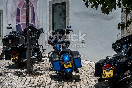 Cascais, Portugal. June, 16th 2019 - Cascais Harley-Davidson 28th annual european HOG rally.