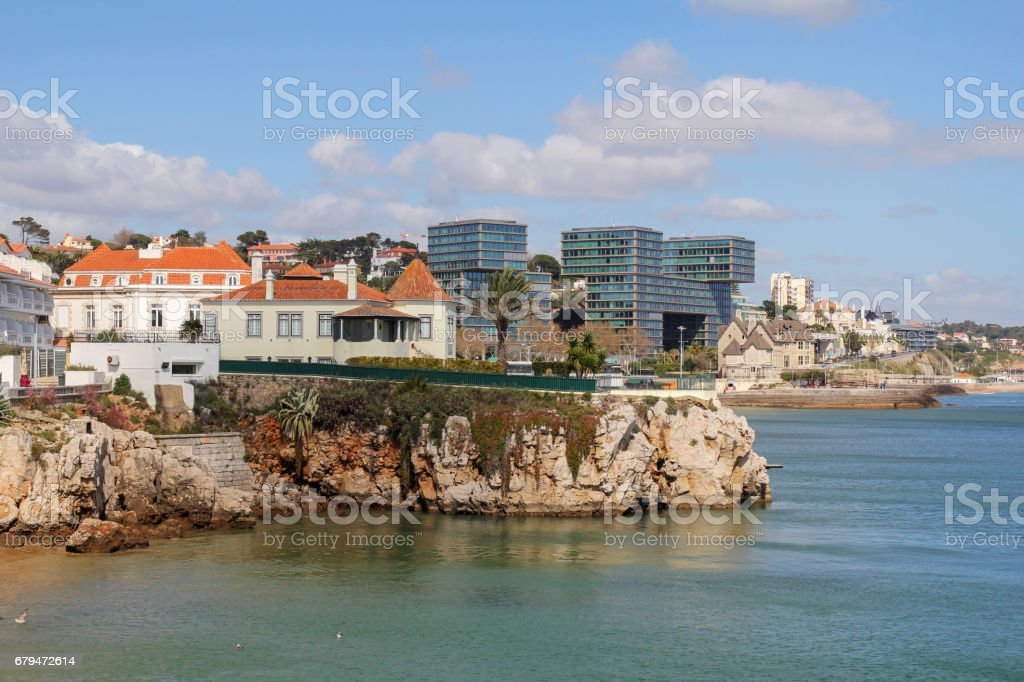 Cascais near Lisbon in Portugal 免版稅 stock photo