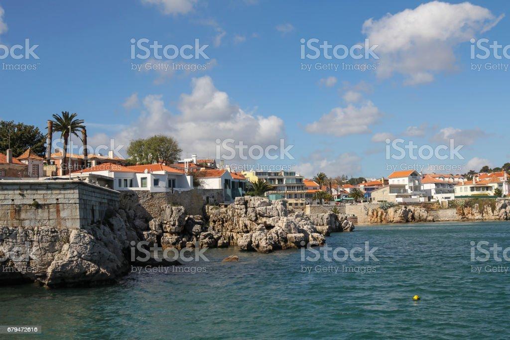 Cascais near Lisbon in Portugal 免版稅 stock photo
