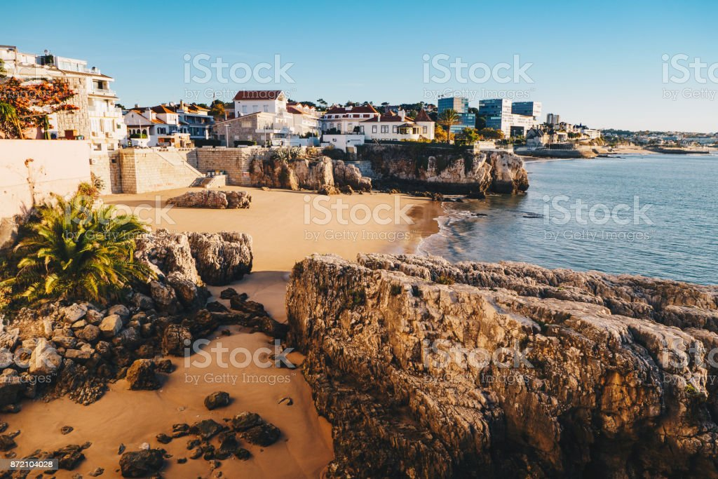 Cascais Portugal, holiday destination and popular day trip from Lisbon stock photo