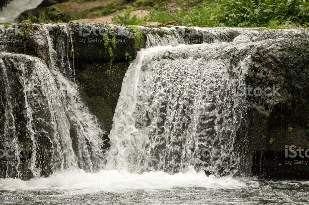 Cascate di Monte Gelata royalty-free stock photo