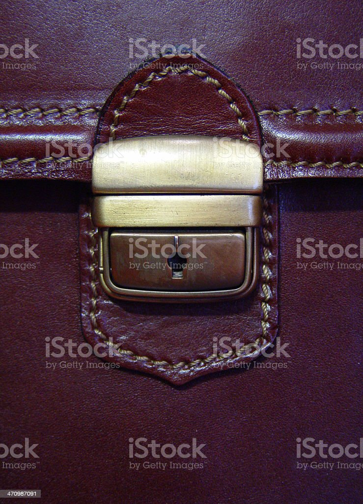 Case closed royalty-free stock photo