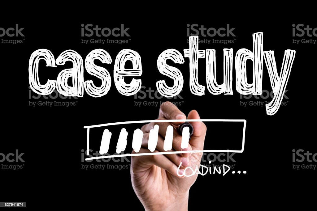 Case Study stock photo