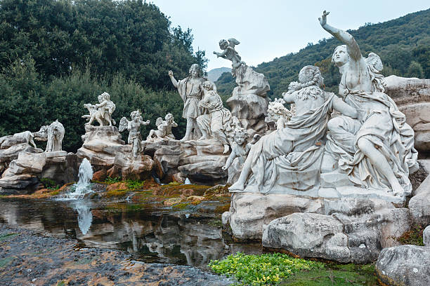 Caserta Royal Palace, Fountain of Venus and Adonis. – Foto