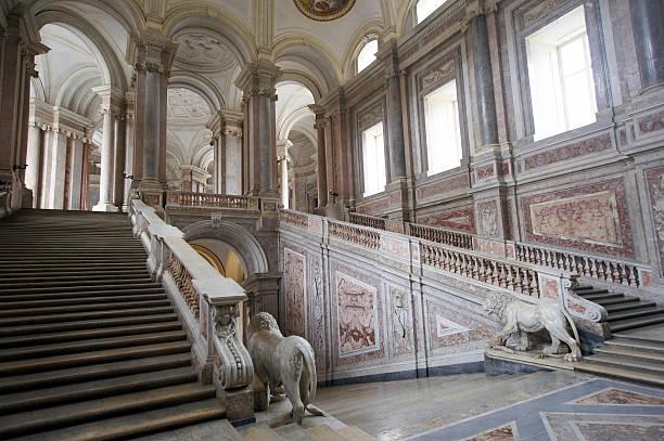 caserta royal palace - palats bildbanksfoton och bilder