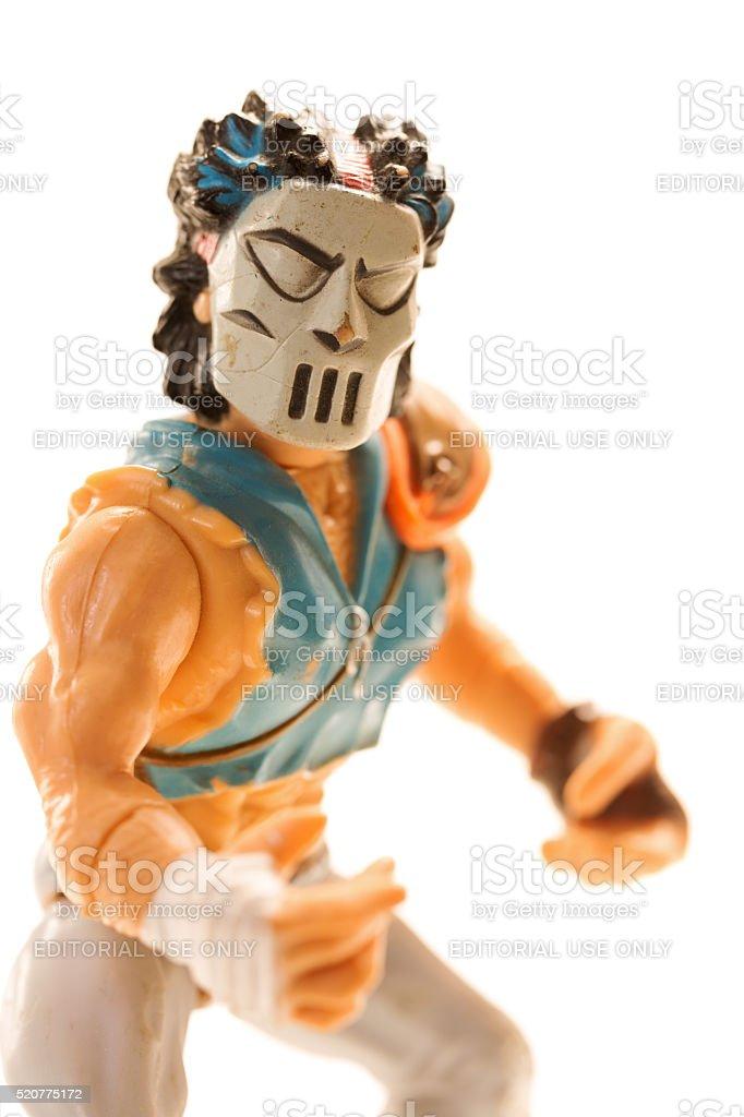 Casey Jones of the Teenage Mutant Ninja Turtles stock photo