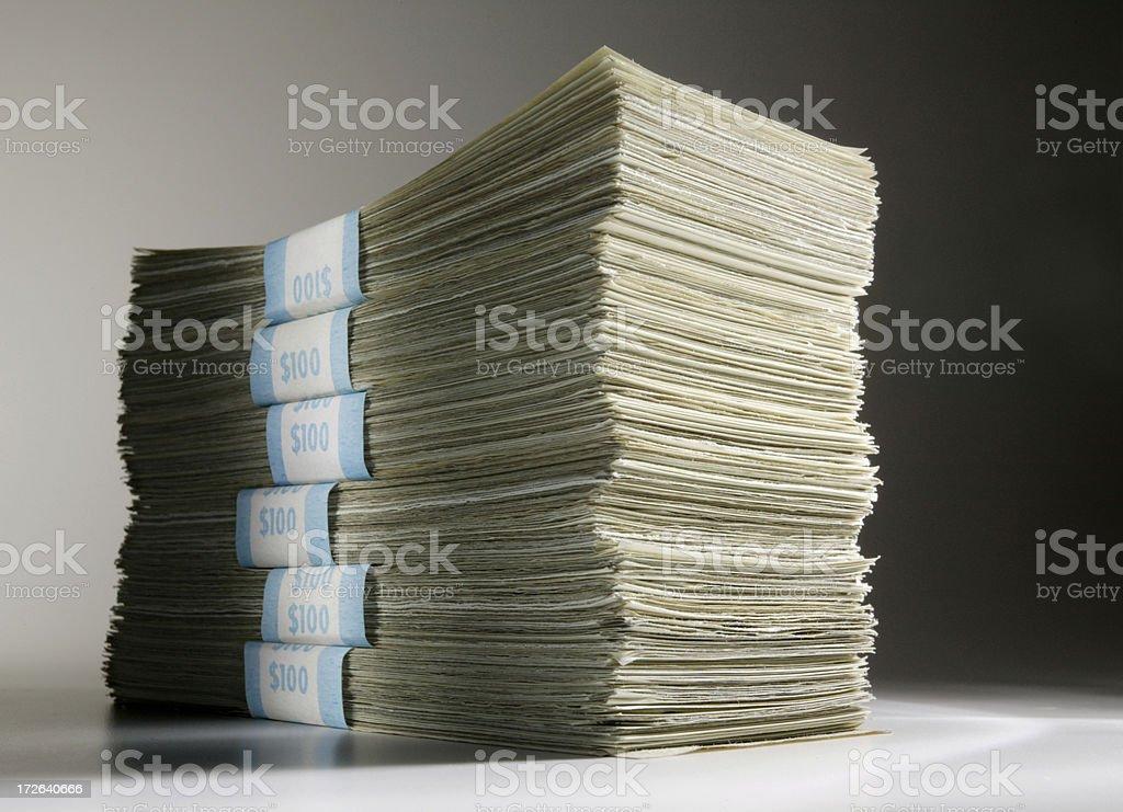 Cash 3 royalty-free stock photo