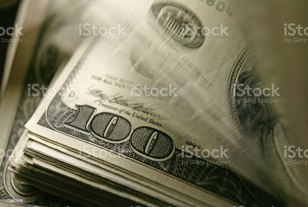 Cash 9 royalty-free stock photo