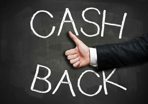 506662064 istock photo Cash back / Blackboard cocnept (Click for more) 680346406
