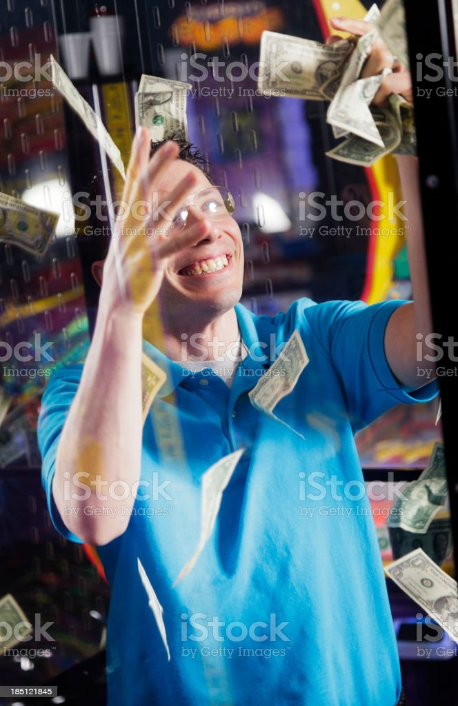 Cash Booth stock photo
