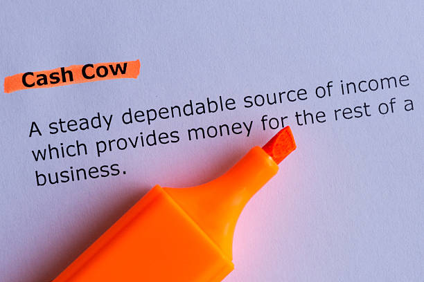 cash cow stock photo