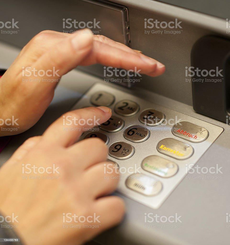 cash dispenser royalty-free stock photo