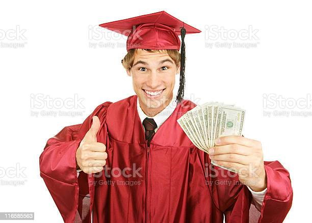 Cash For College Stock Photo - Download Image Now