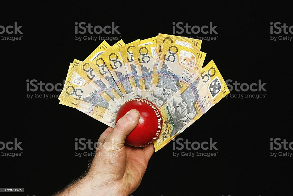 Bargeld für Cricket – Foto