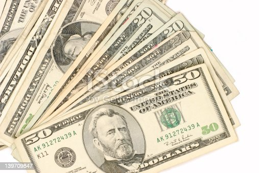 istock cash in front of you 139709847