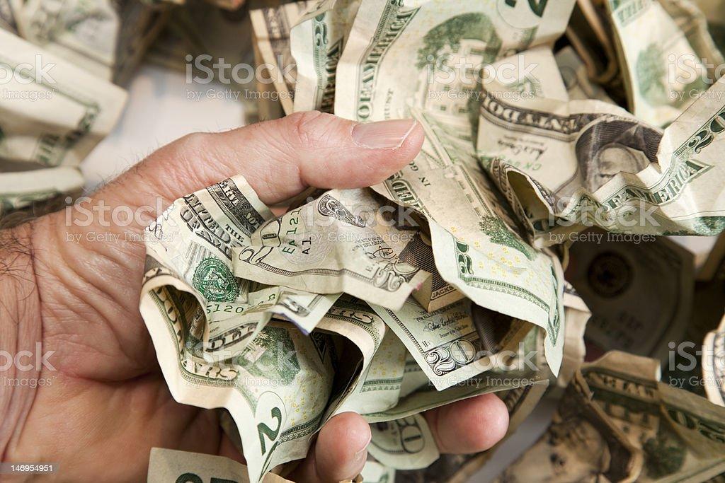 Cash Lift royalty-free stock photo