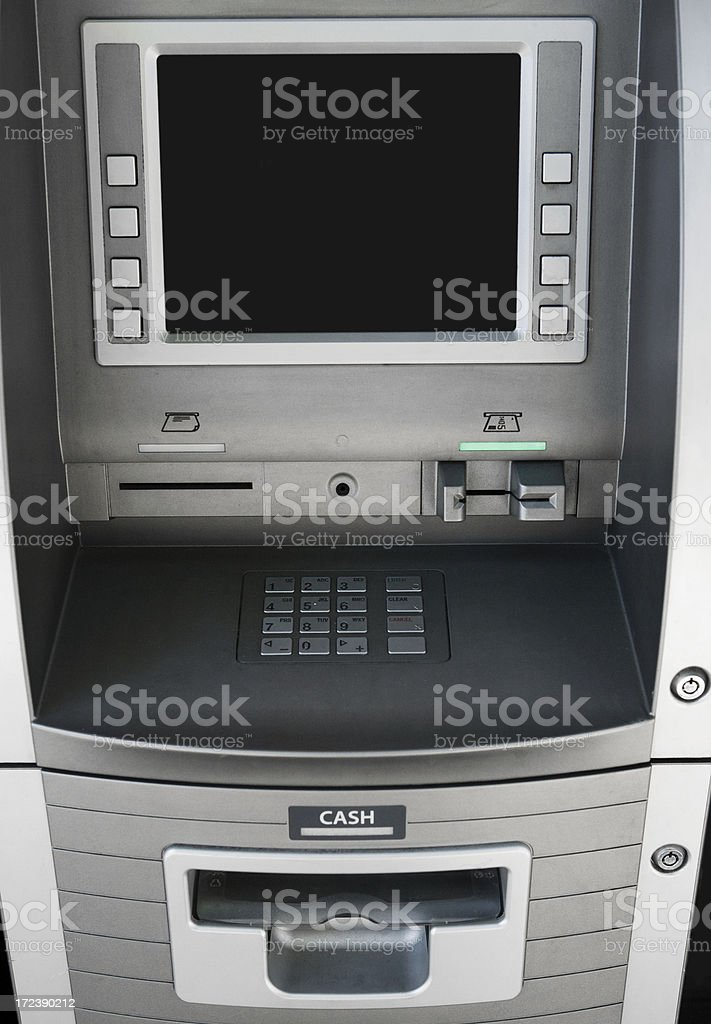 ATM / Cash Machine royalty-free stock photo