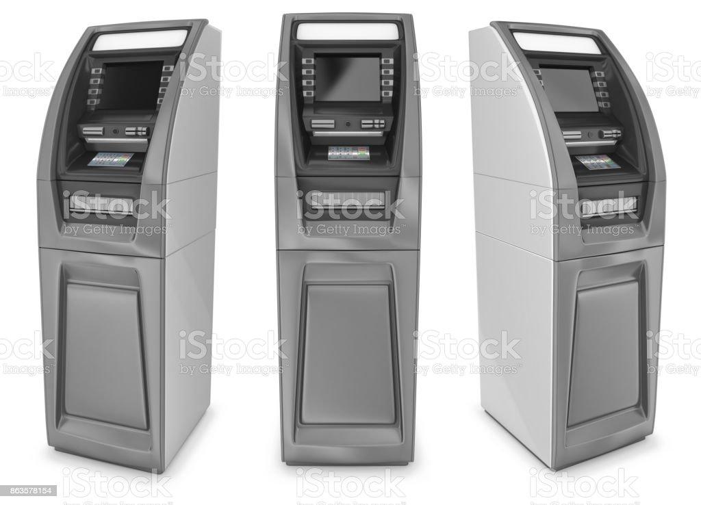 ATM cash machine stock photo