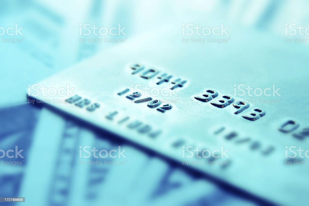Cash or Credit? royalty-free stock photo