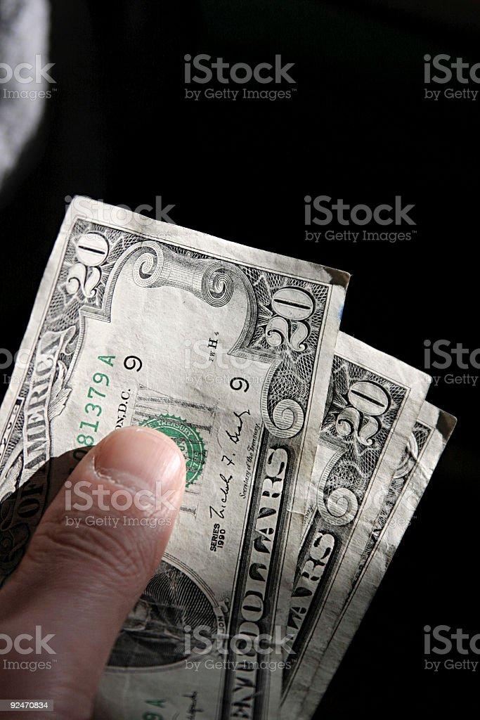 Cash Please v2 royalty-free stock photo