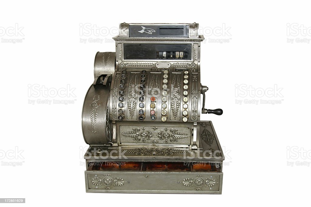 Cash register royalty-free stock photo