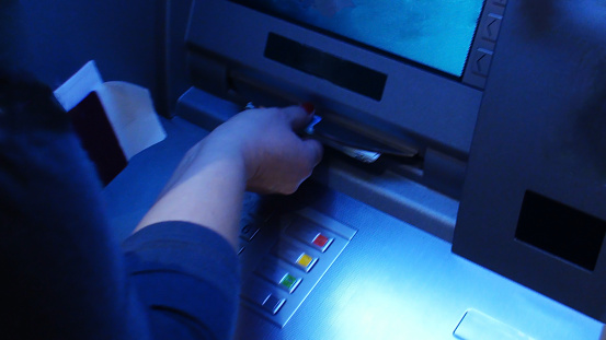 istock Cash Withdrawal From ATM 478671808