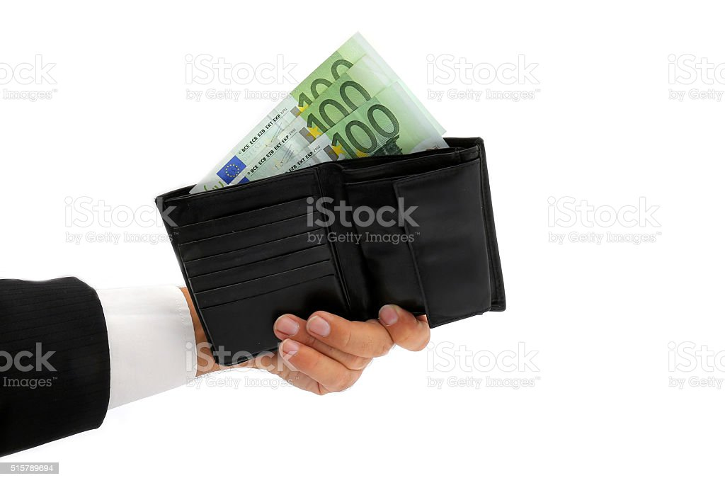 Cash,100 euro stock photo