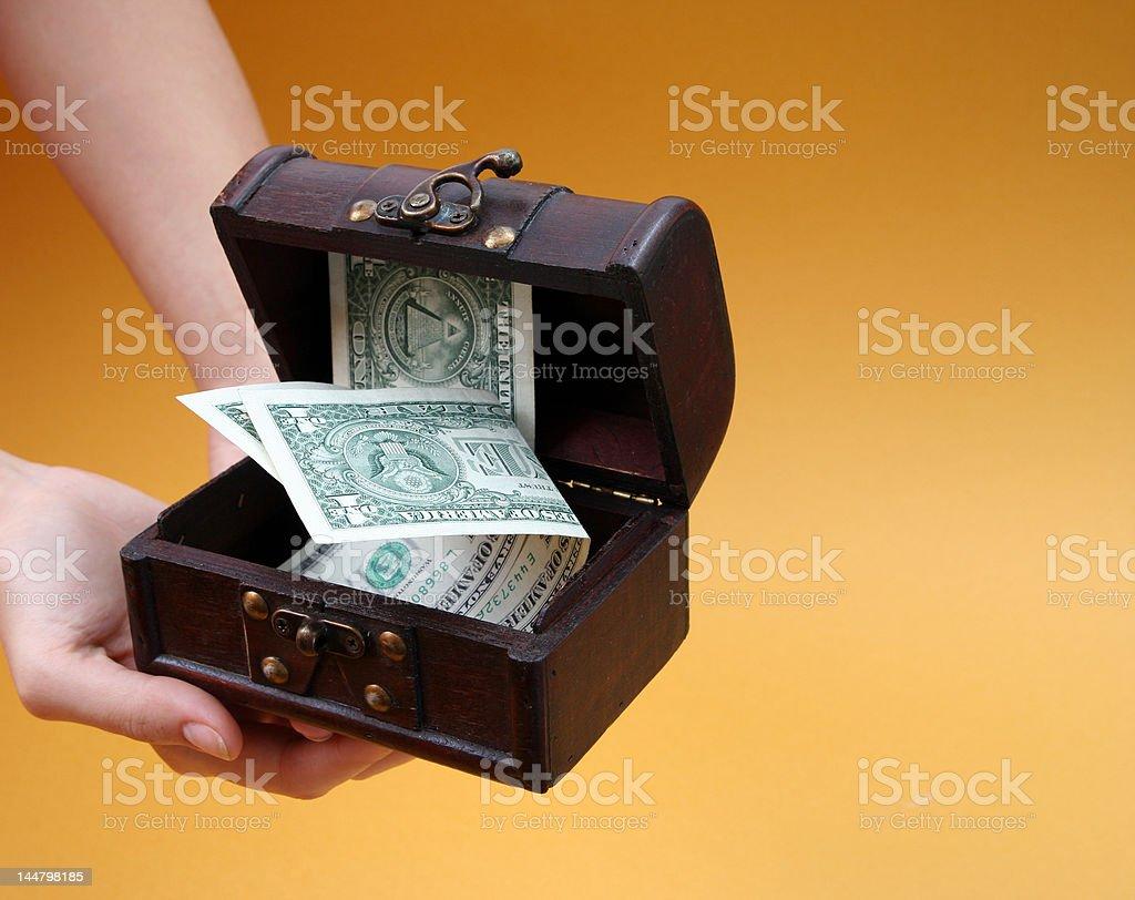 Cashbox stock photo