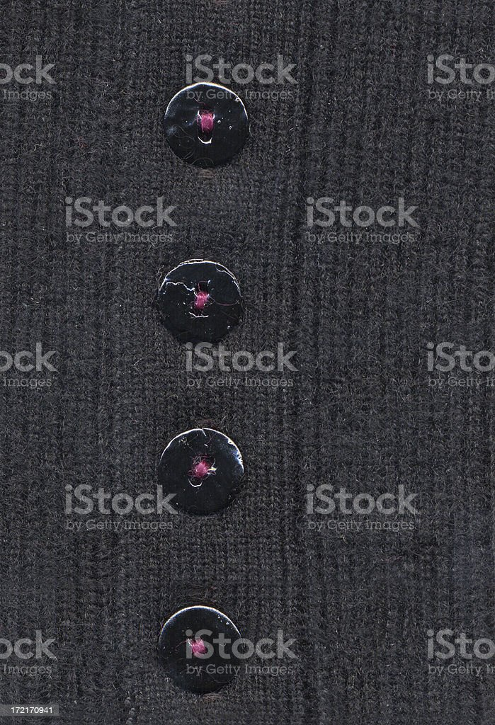 Cashmere sweater sleeve detail royalty-free stock photo