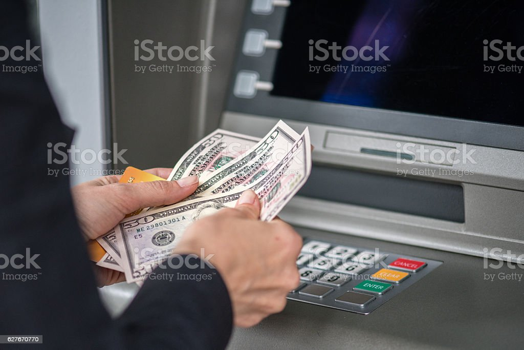 Cashpoint Machine - foto de stock