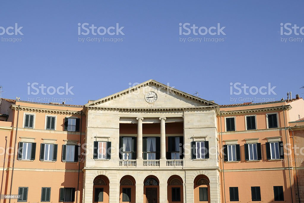 Casini di Ardenza royalty-free stock photo