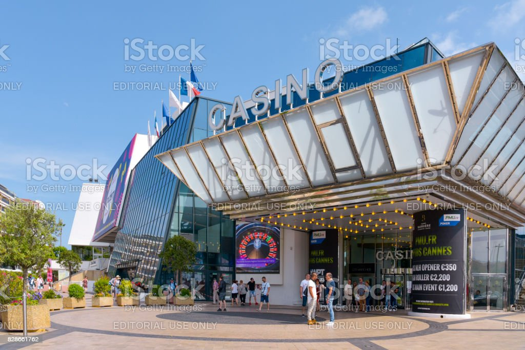 Casino and Palais des Festivals in Cannes, France stock photo