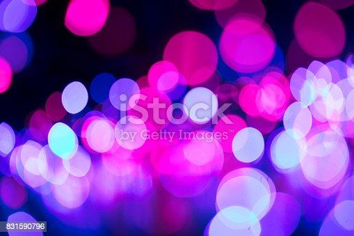 istock Casino bokeh lights 831590796