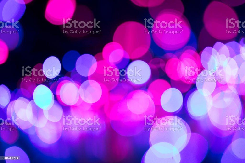 Casino bokeh lights stock photo