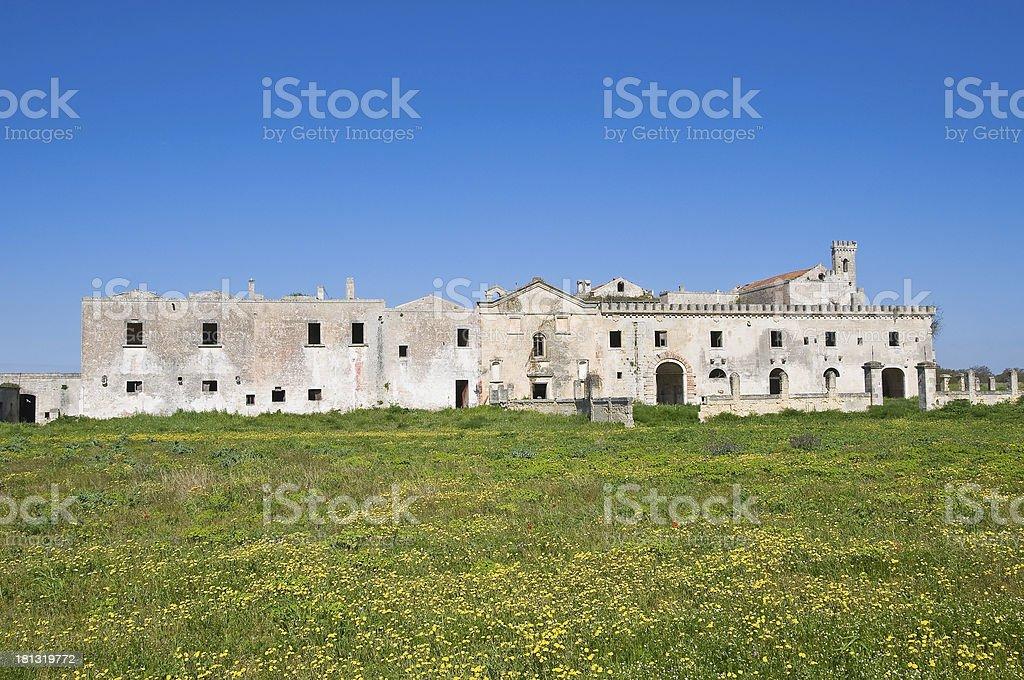 Casino del Duca. Mottola. Puglia. Italy. royalty-free stock photo
