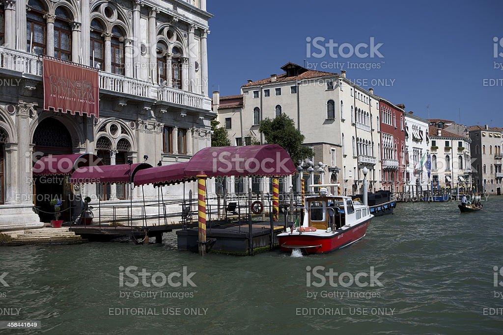 Casino Divenzia Venice royalty-free stock photo