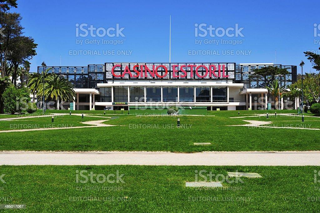 Casino Estoril in Estoril stock photo
