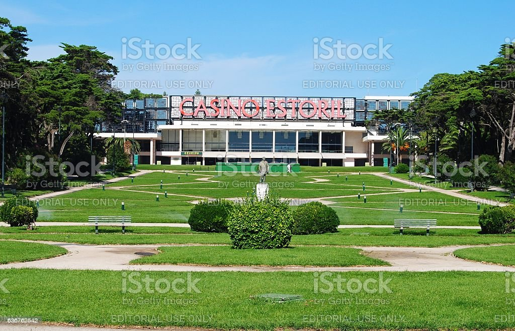 Casino Estoril in Portugal. stock photo