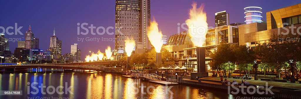 Casino Flames royalty-free stock photo