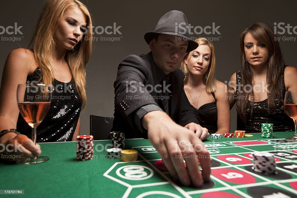 Casino gambling royalty-free stock photo