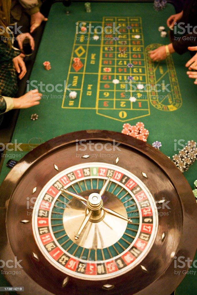 Casino gambling royalty-free stock photo