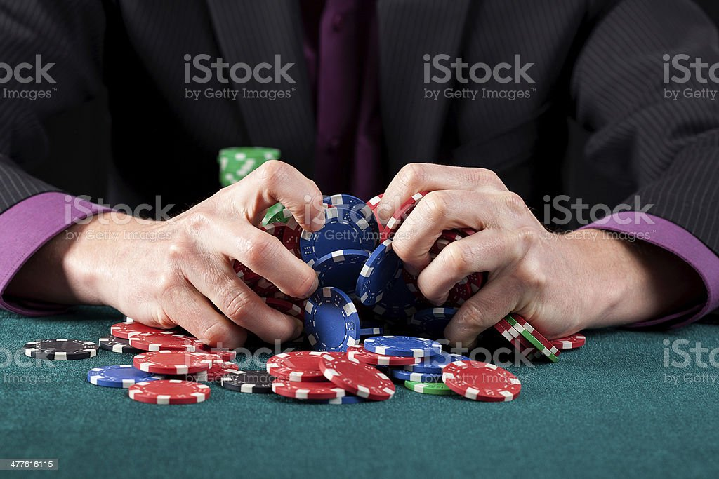 Casino game failure royalty-free stock photo