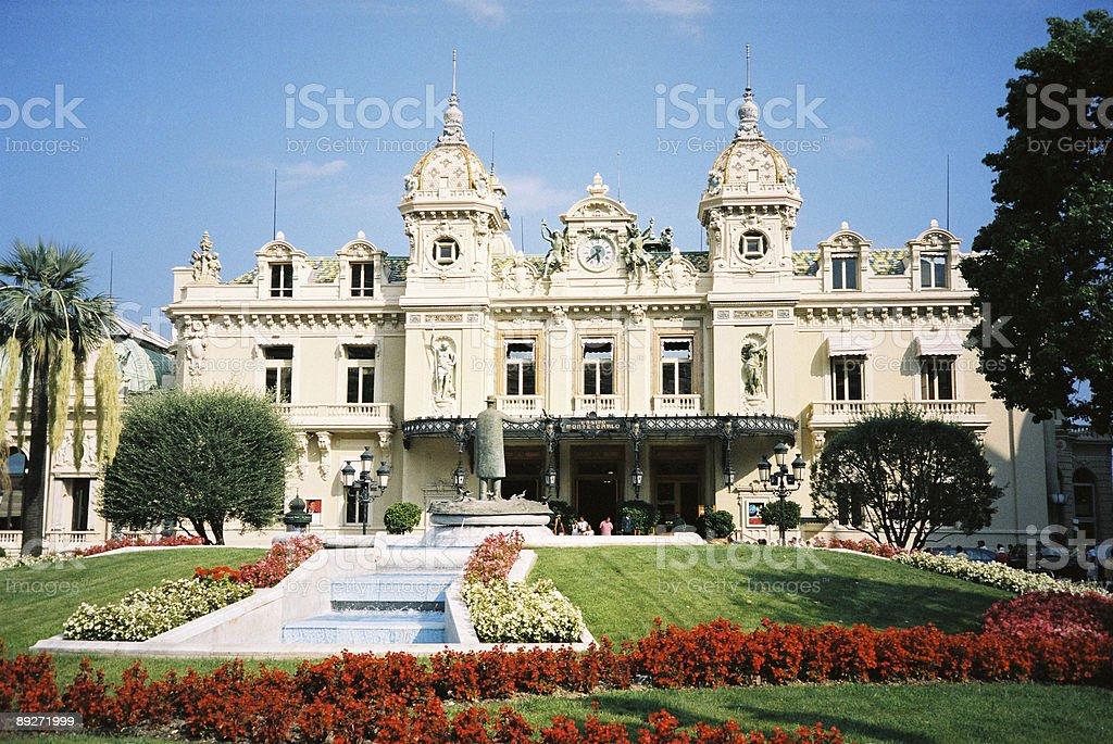 Casino in monte-carlo royalty-free stock photo