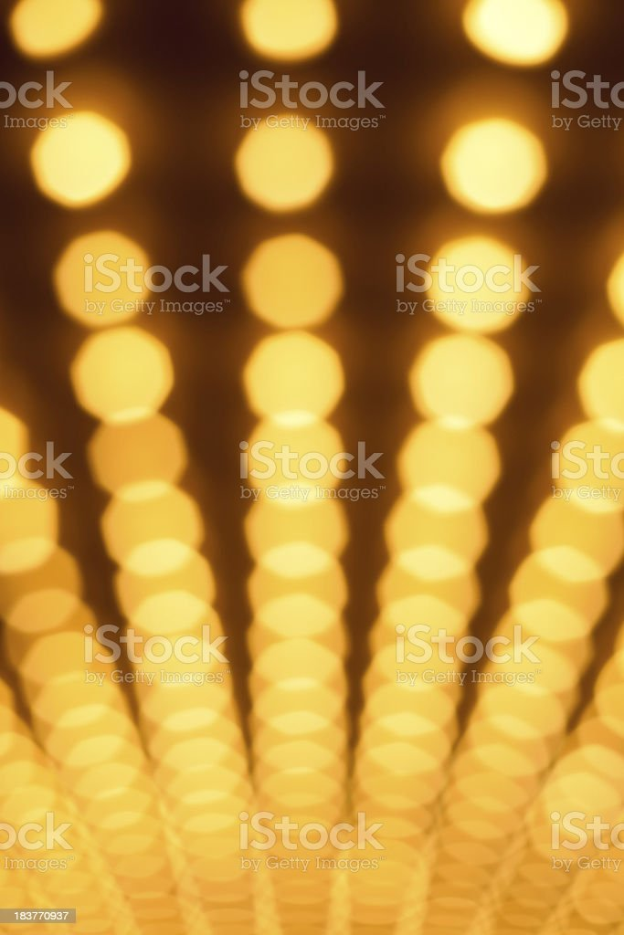 Casino Lights Background stock photo