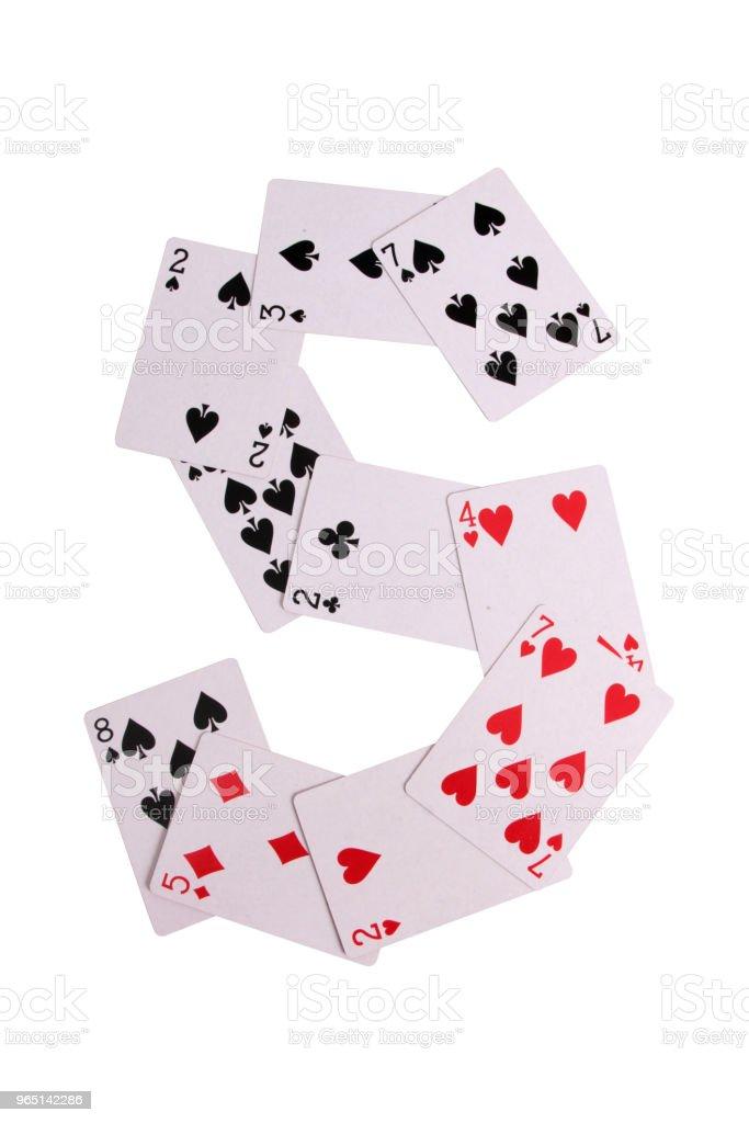 Casino logo cards zbiór zdjęć royalty-free